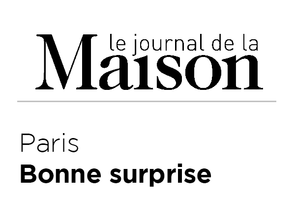 Le Journal de la Maison - Paris bonne surprise